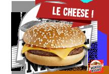 Le CheesePain burger artisanal, steack 90 grammes, sauces spéciales maison, cheddar. Selon disponibilité   3€Commander par tél ou SMS